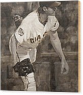 Barry Zito - Redemption Wood Print