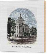 Barton Academy - Mobile Alabama Wood Print
