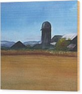 Barton Farm Wood Print
