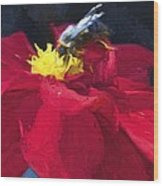 Bartram Bee Wood Print
