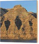 Basalt Group Layers Wood Print