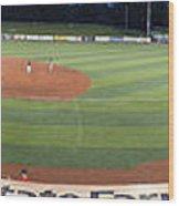 Baseball America's Past Time Wood Print