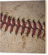 Baseball - America's Pastime Wood Print