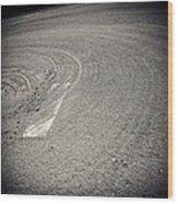 Baseball Field 15 Wood Print