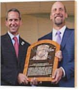 Baseball Hall of Fame Induction Ceremony Wood Print