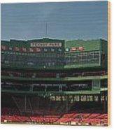Baseballs Hollowed Ground Wood Print
