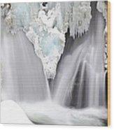 Bash Bish Falls Wood Print