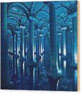 Basilica Cistern - Istanbul - Turkey Wood Print