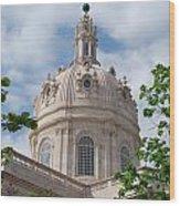 Basilica Da Estrela In Lisbon Wood Print