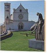 Basilica Di San Francesco - Assisi Wood Print