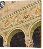Basilica Di Sant' Apollinare Nuovo - Ravenna Italy Wood Print