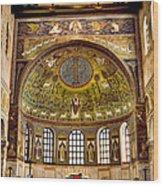 Basilica Di Sant'apollinare Nuovo - Ravenna Italy Wood Print