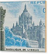 Basilica Lisieux Wood Print