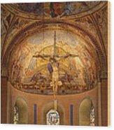 Basilica Of Saint Servatius Maastricht The Netherlands Wood Print