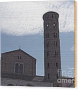 Basilica Of Sant'apollinare In Classe Wood Print