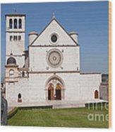 Basilica Of St. Francis Of Assisi Wood Print