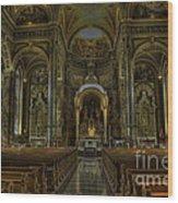 Basilica Of St. Josaphat Wood Print