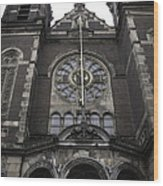 Basilica Of St Nicholas II Amsterdam Wood Print