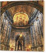 Basilica Parroquial Wood Print