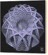 Basket Of Hyperbolae 01 Wood Print