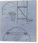 Basketball Hoop Wood Print