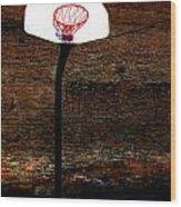 Basketball Wood Print