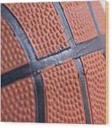 Basketball Study 4 Wood Print