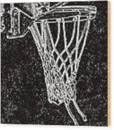 Basketball Years Wood Print by Karol Livote