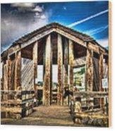 Baskett Slough Wood Print by Jimmy Story