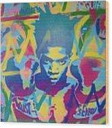 Basquiat Wood Print