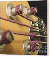 Bass II Wood Print