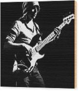 Bassist Wood Print