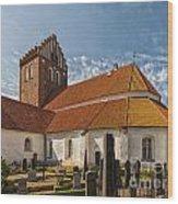 Bastad Church Wood Print