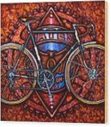 Bates Bicycle Wood Print
