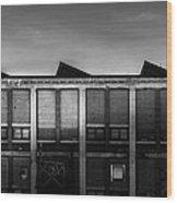 Bates Mill N5 South Wood Print
