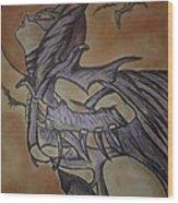 Batgirl Wood Print