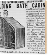 Bath Cabinet, 1897 Wood Print