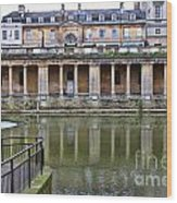 Bath Markets 8504 Wood Print