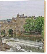 Bath On River Avon 8482 Wood Print