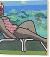 Bathing Suit 3 Wood Print