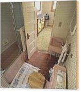 Bathroom Wood Print