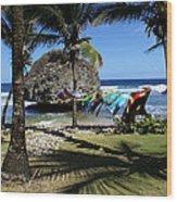 Bathsheba Barbados Wood Print