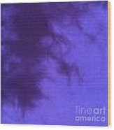 Batik In Purple Shades Wood Print