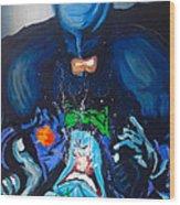 Batman Vs Joker Wood Print