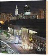 Baton Rouge River Center Wood Print