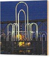 Baton Rouge Riverfront Landing Wood Print