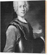 Batoni Monsieur De Salle Wood Print