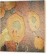 Battered Not Beaten Wood Print