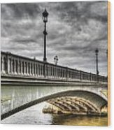 Battersea Bridge London Wood Print