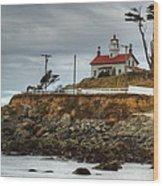 Battery Point Lighthouse 1 B Wood Print